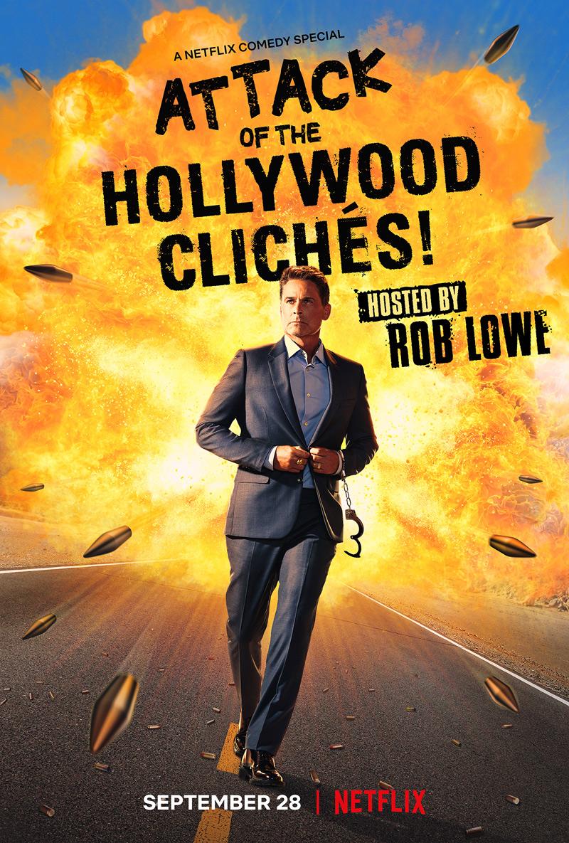 ¡Ataque de los clichés de Hollywood!  Póster