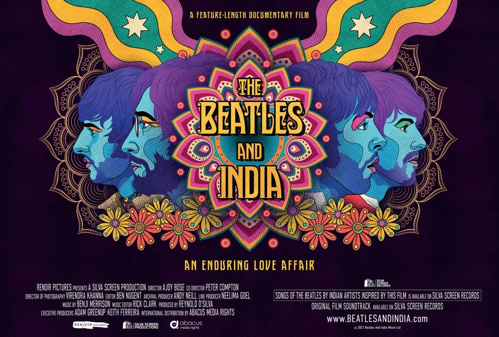The Beatles and India Poster
