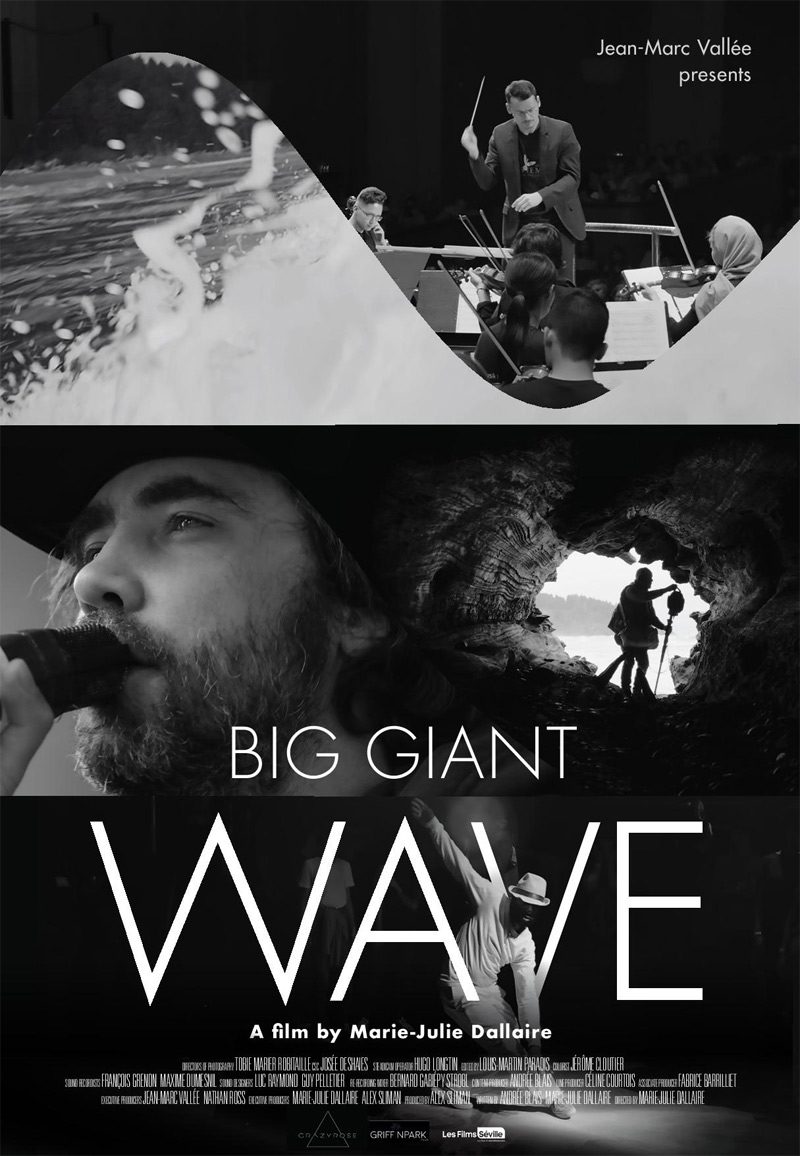 Big Giant Wave Poster