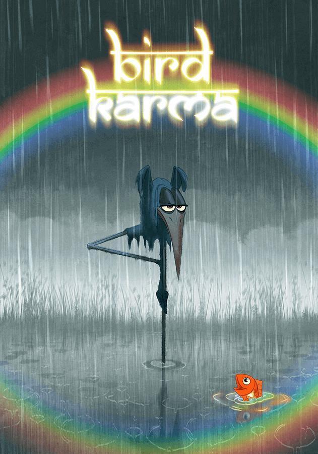 Bird Karma Poster
