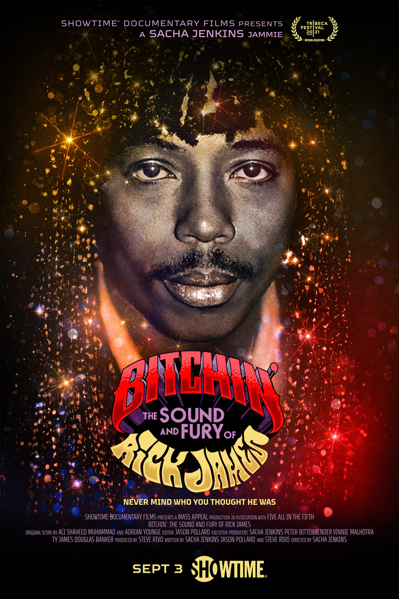 Bitchin': The Sound & Fury of Rick James Poster