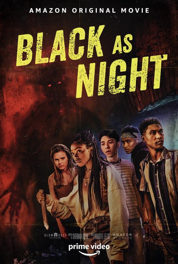 Black As Night Poster