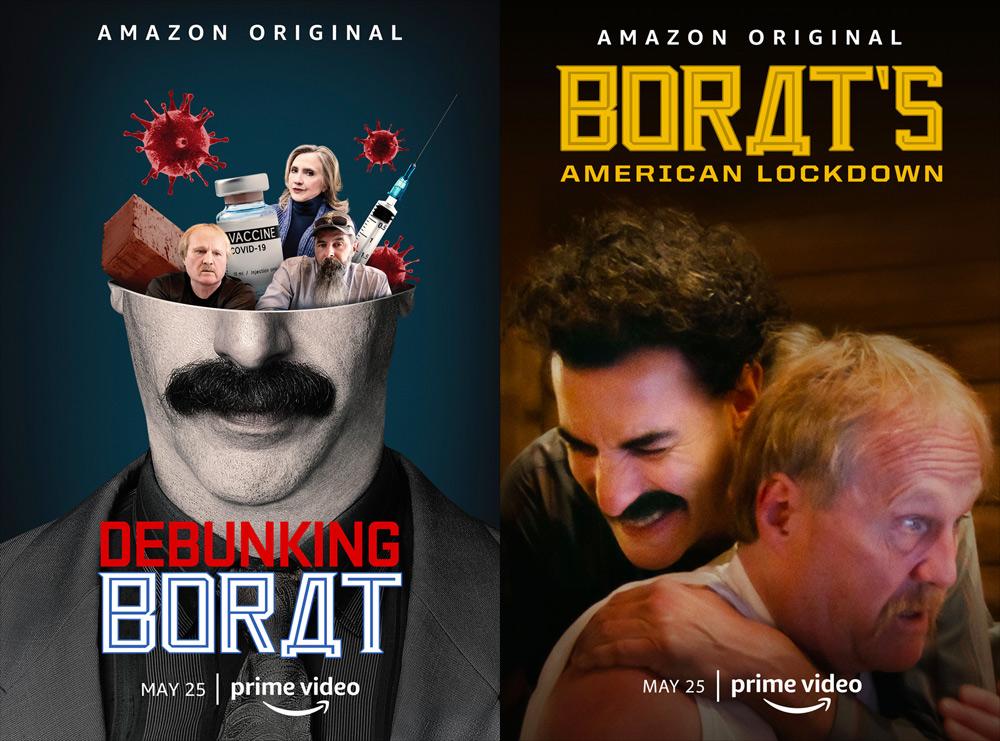 Borat Supplemental Reportings Poster