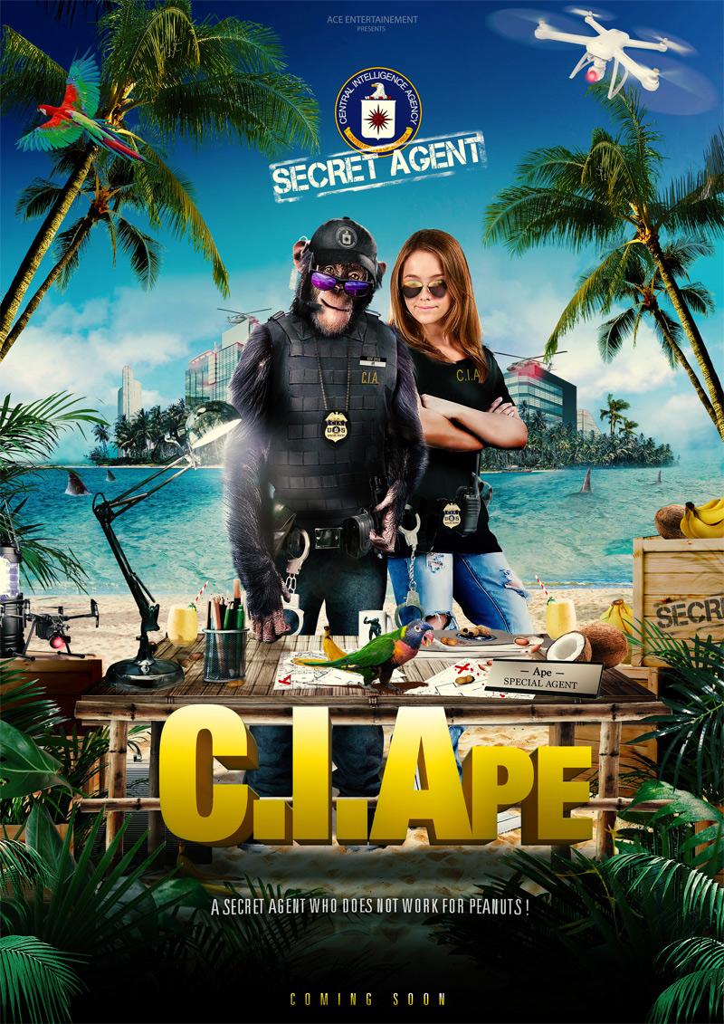 C.I.Ape Poster
