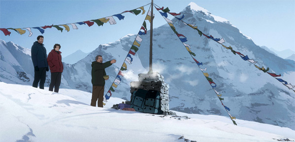 Cannes - Patrick Imbert's The Summit of the Gods