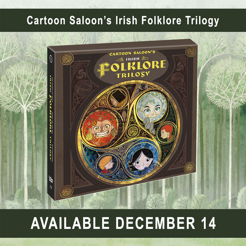 Cartoon Saloon's Irish Folklore Trilogy Box Set