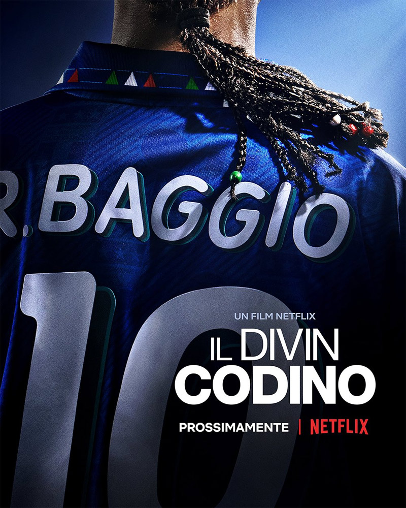Baggio: The Divine Ponytail Poster