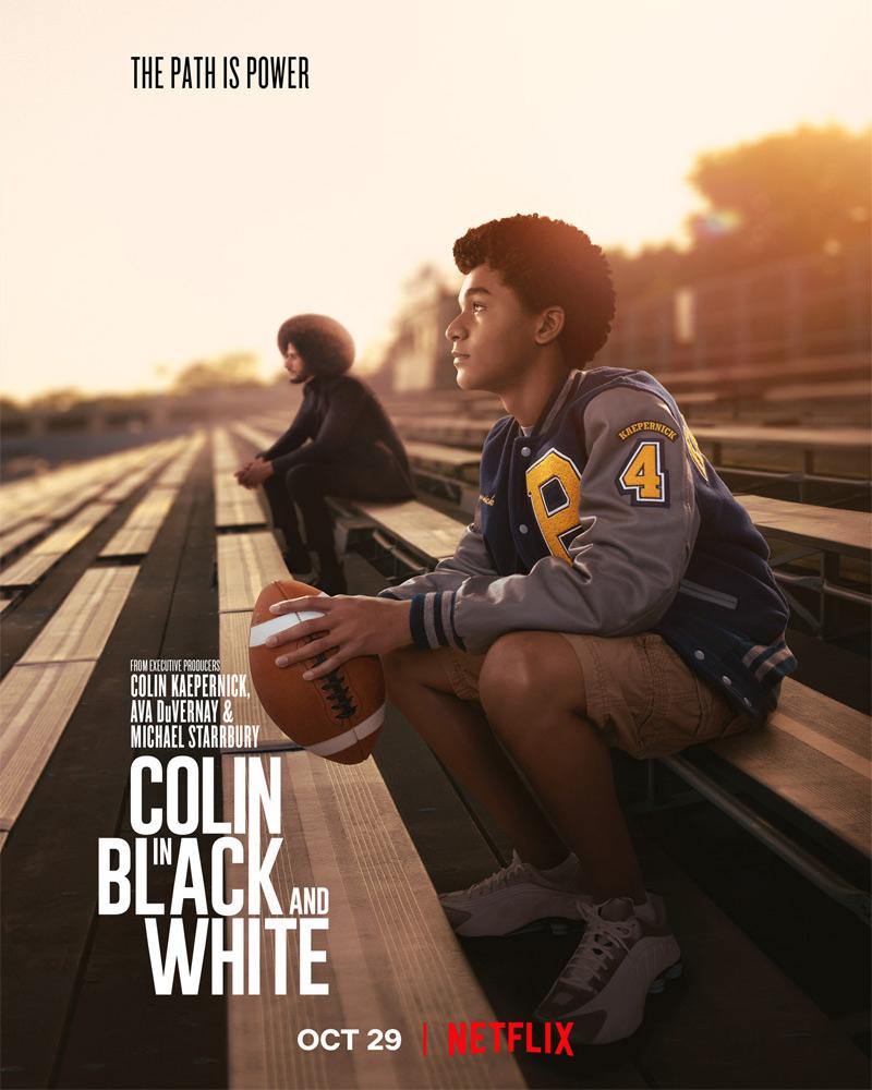 Colin In Black & White Poster