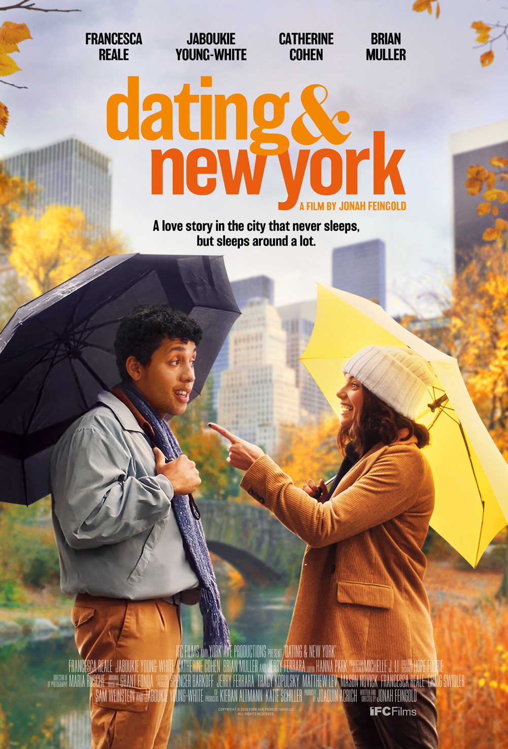 Dating & New York Poster