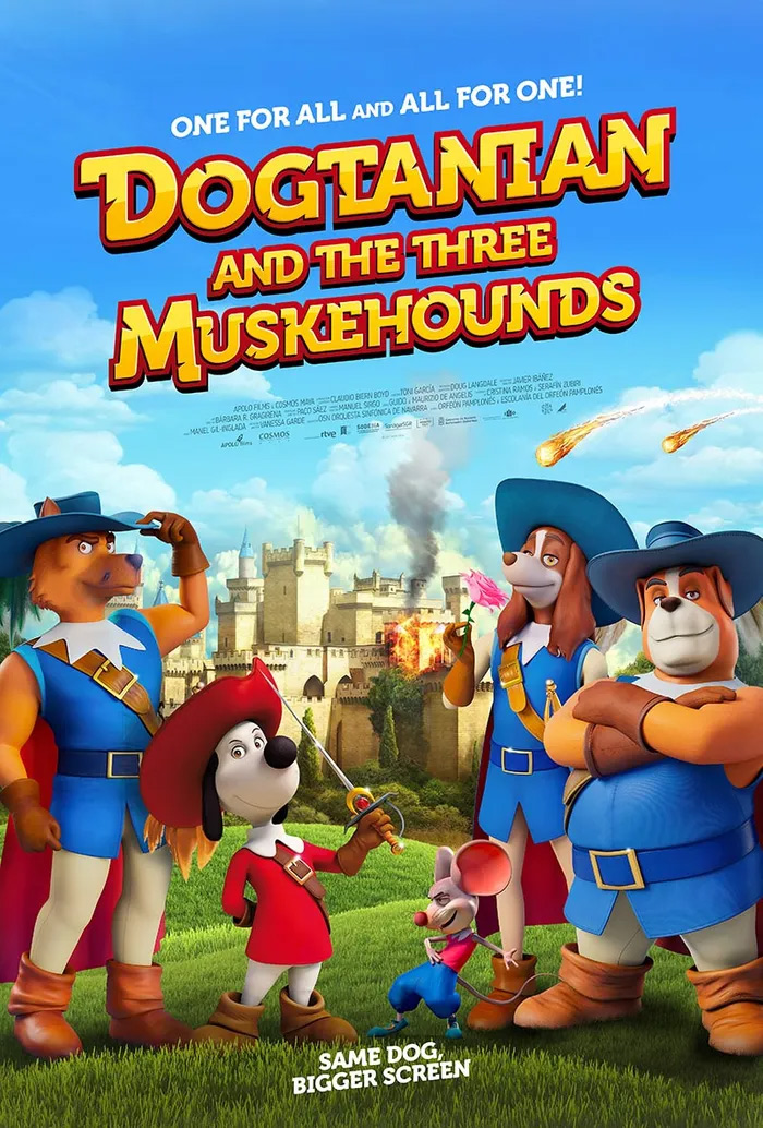 Dogtanian and the Three Muskehounds Poster