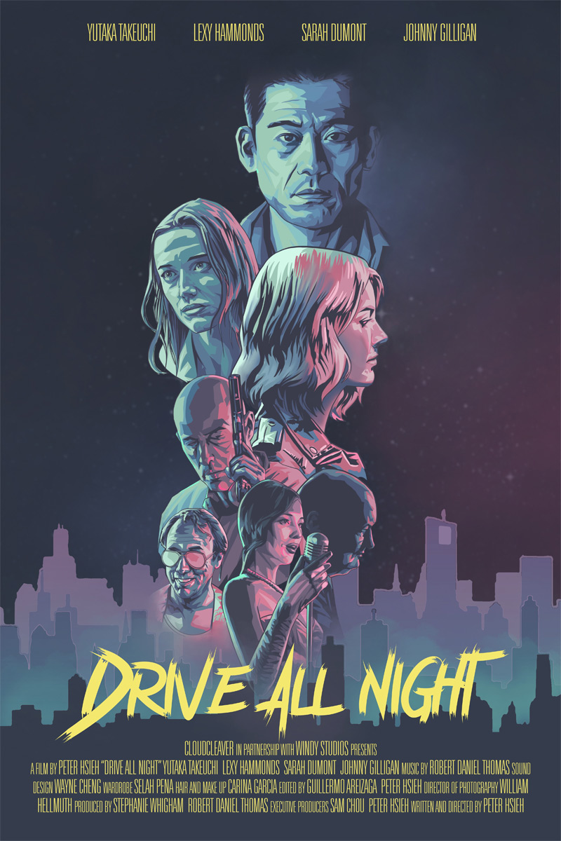 Drive All Night Poster