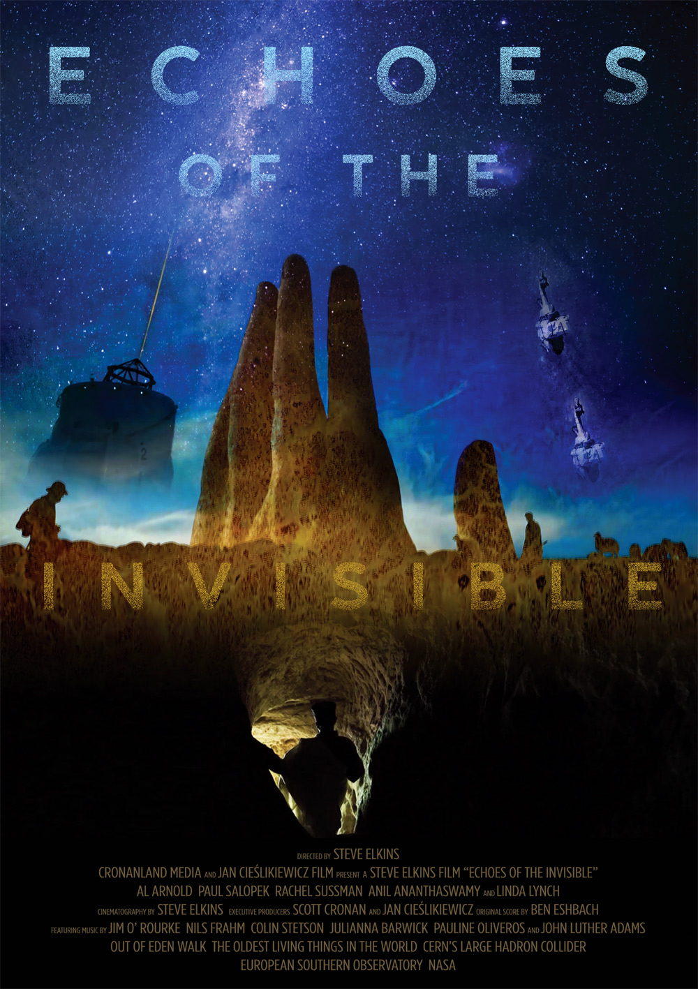 Echoes of the Invisible Poster