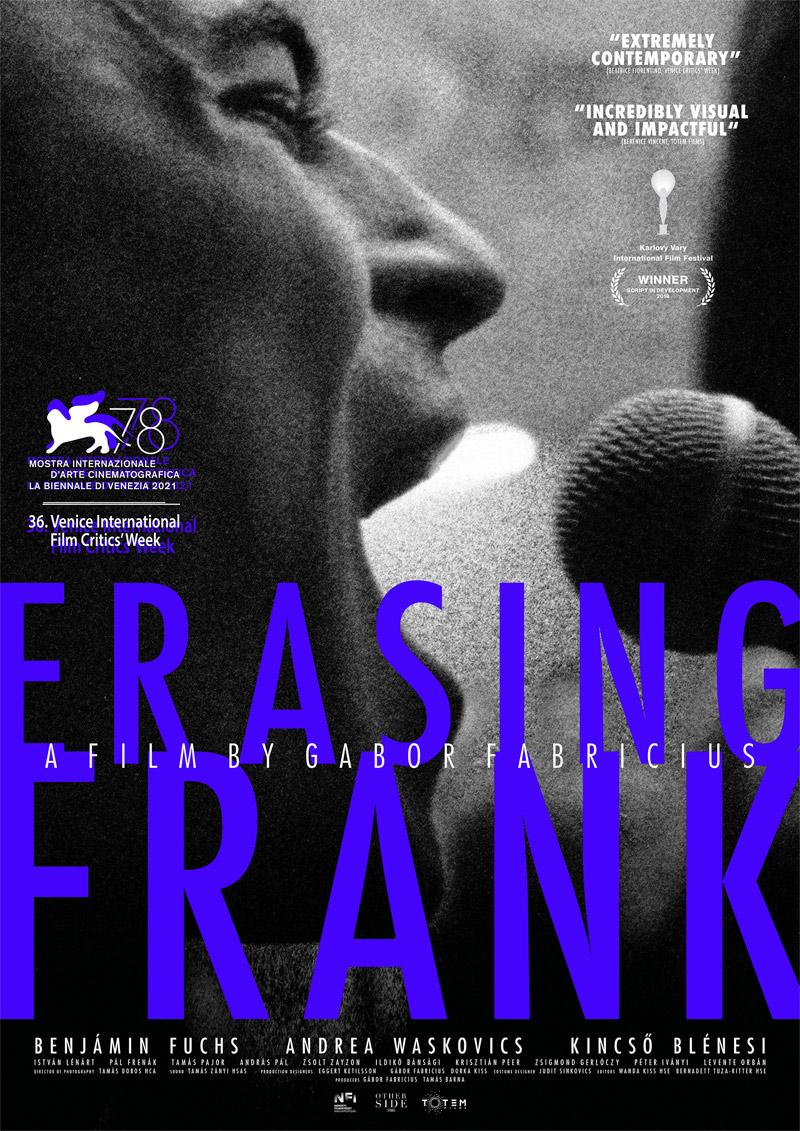 Erasing Frank Poster