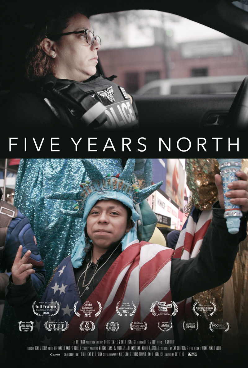 Five Years North Poster