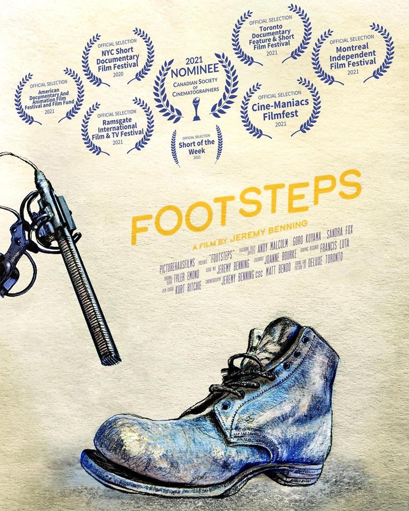Footsteps Short Poster