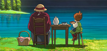 Relaxing Visuals from Studio Ghibli