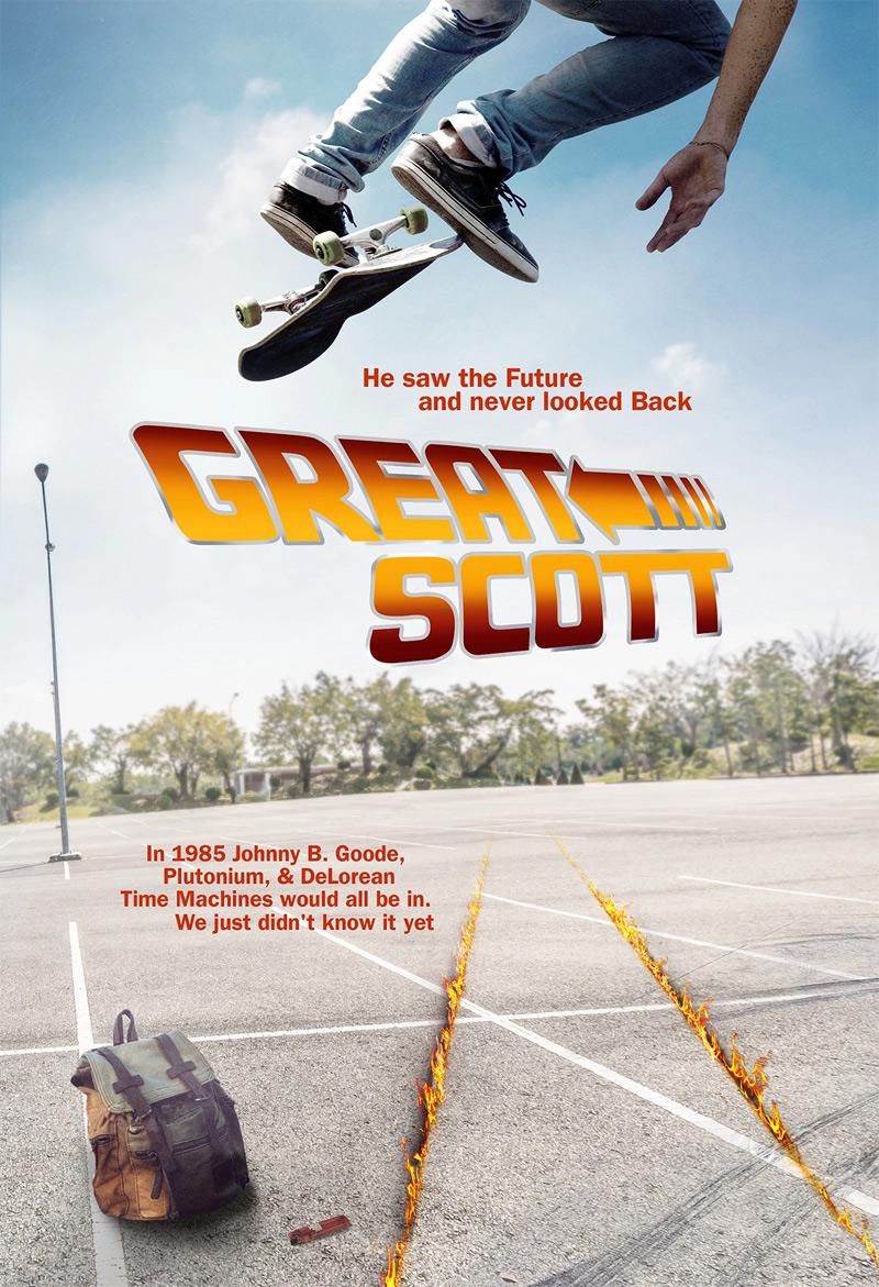 Great Scott Poster