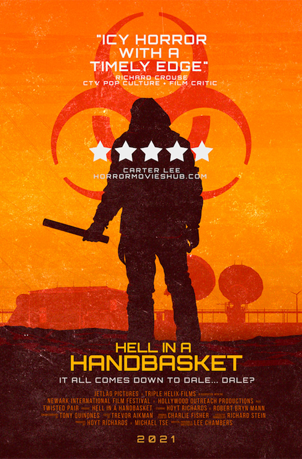 Hell in a Handbasket Poster