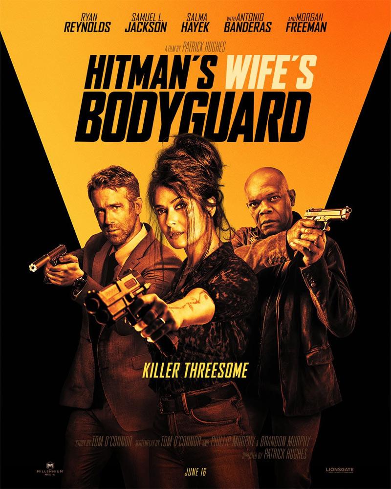 Hitman's Wife's Bodyguard Poster
