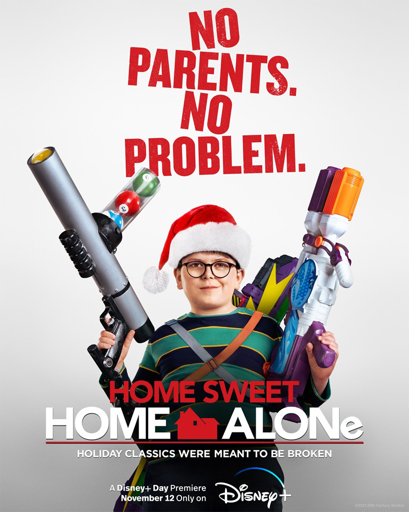 Home Sweet Home Alone Poster