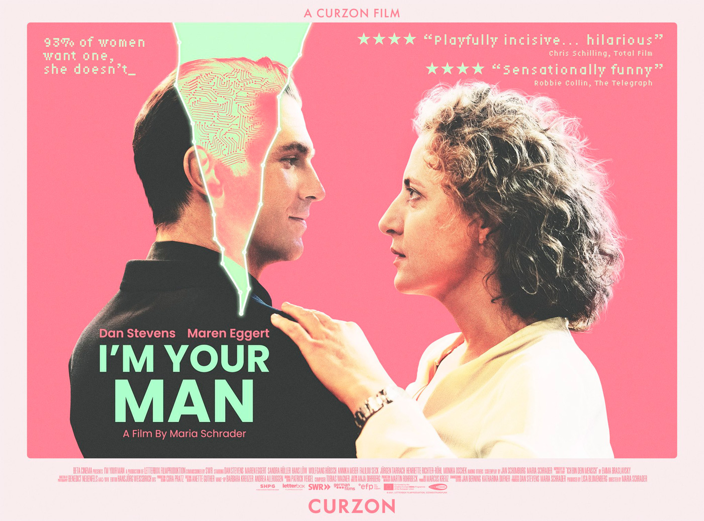 I'm Your Man UK Poster