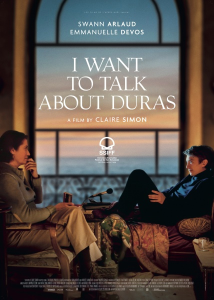 I Want To Talk About Duras Poster