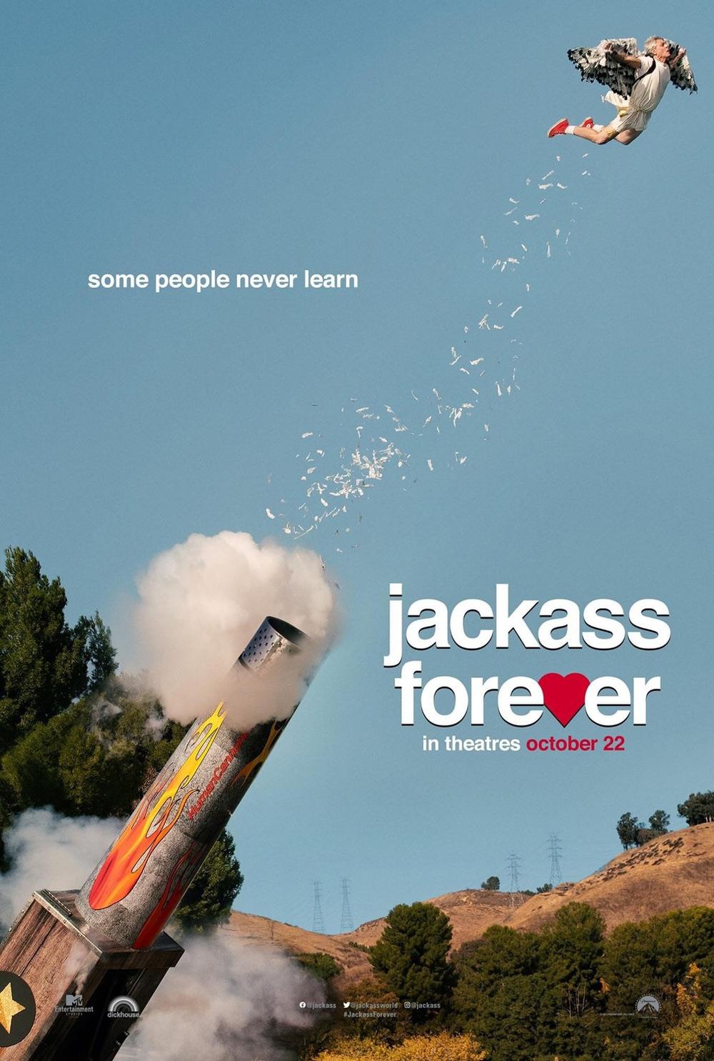Jackass Forever Poster
