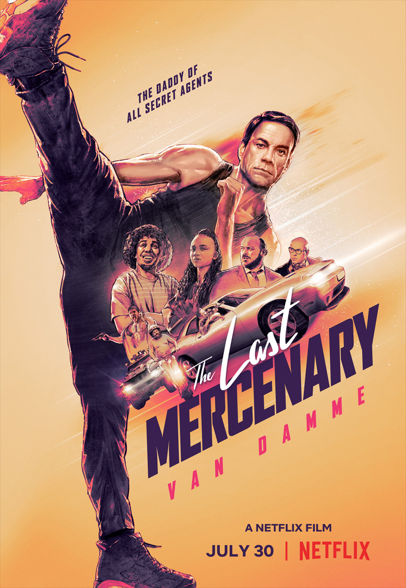 The Last Mercenary Poster