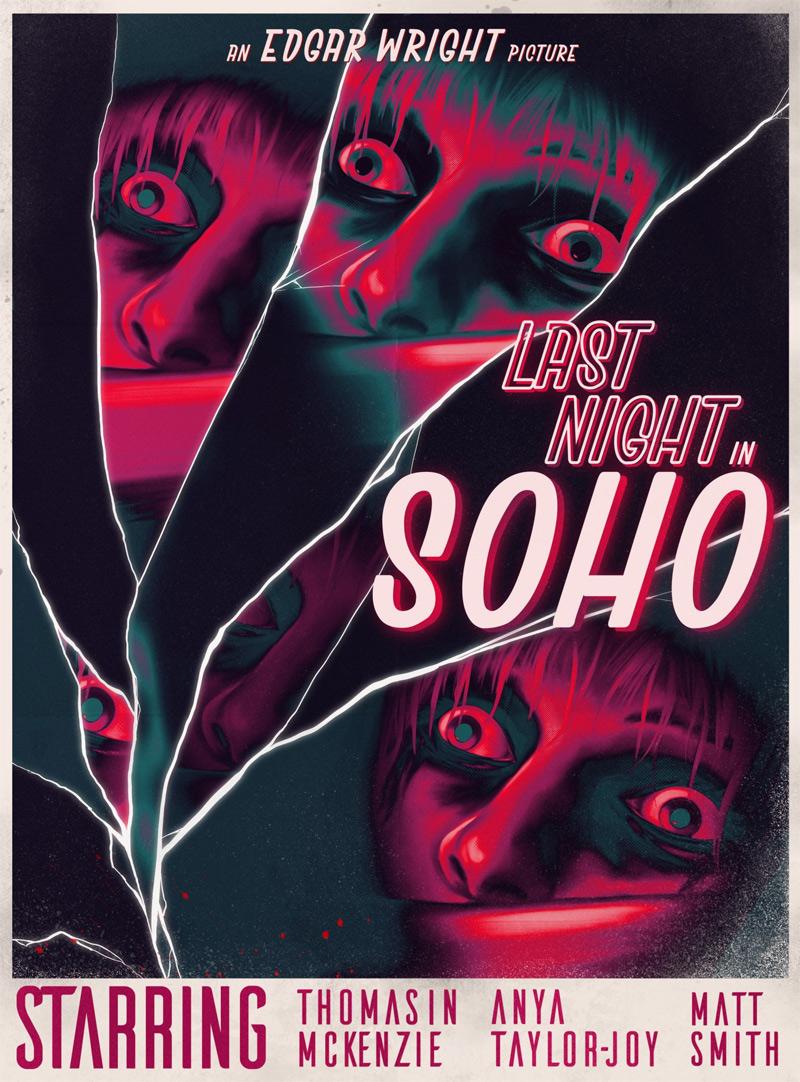 Letzte Nacht in Soho Poster