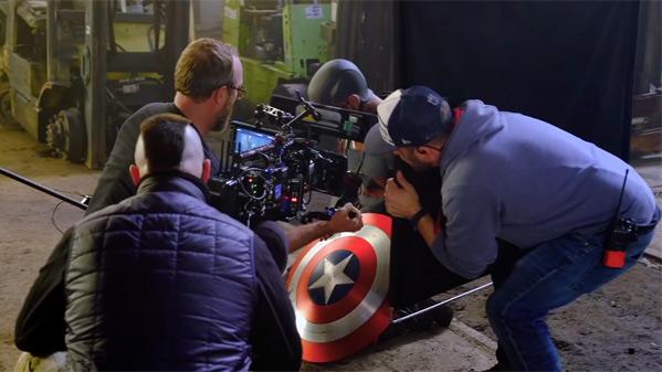 Marvel Studios merged