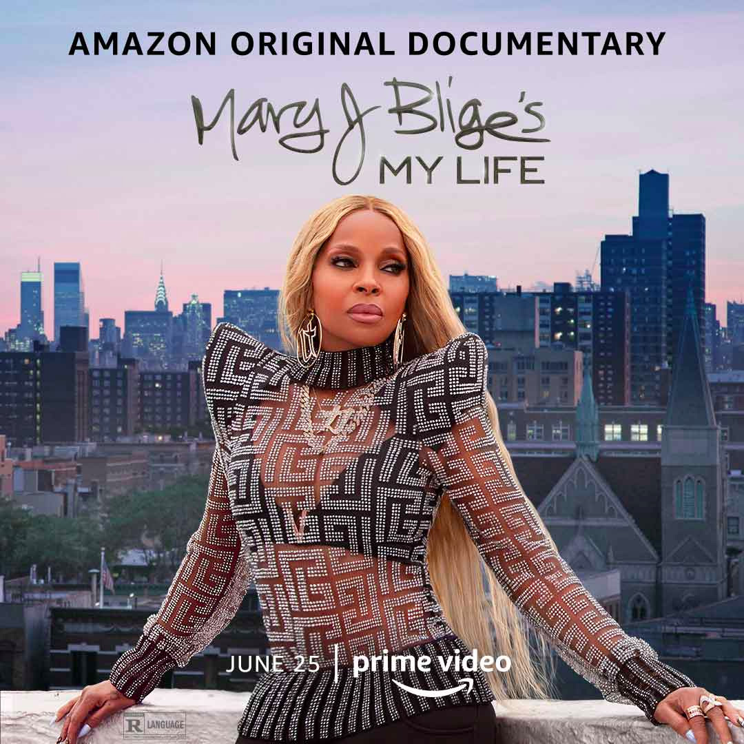 Mary J Blige's My Life Poster