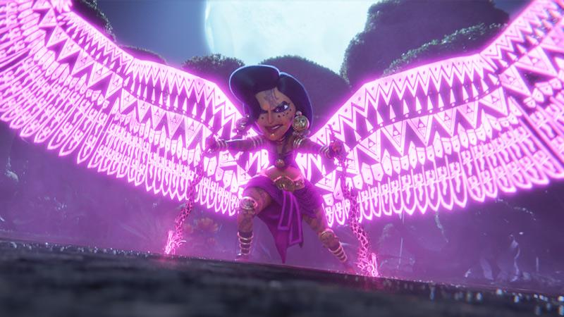 Maya and the Three Film