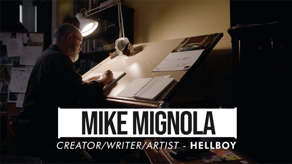 Mike Mignola: Drawing Monsters Poster