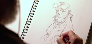 Mike Mignola: Drawing Monsters Trailer