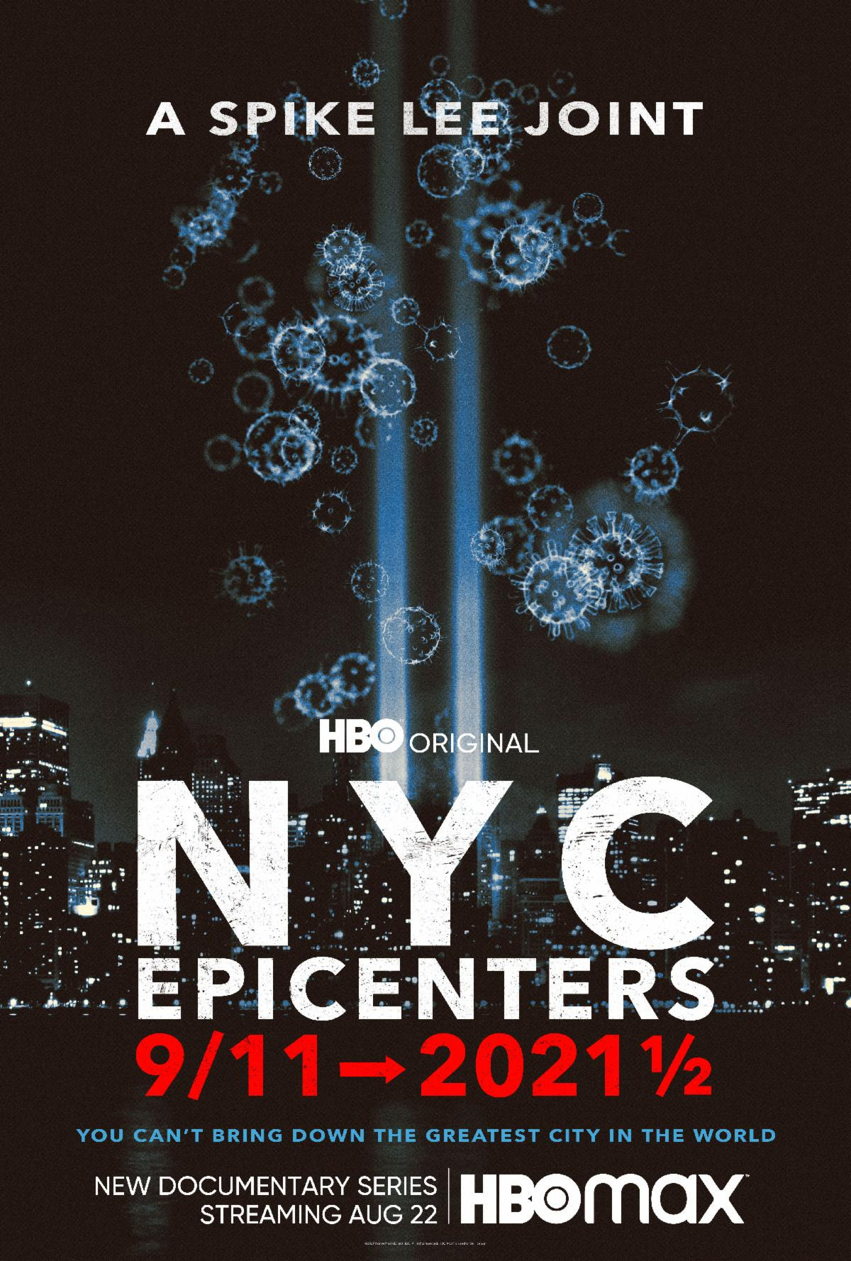 Centros da cidade de Nova York: pôster de 11 de setembro a 2021