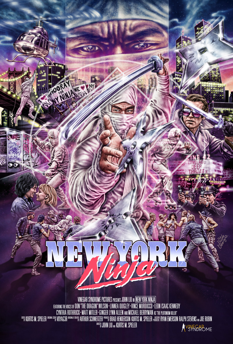 New York Ninja Poster