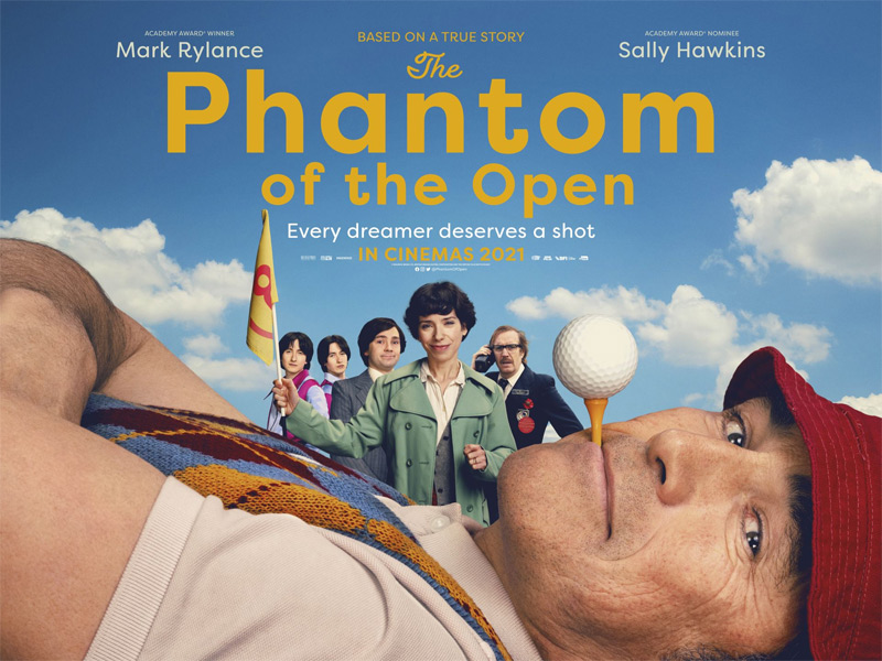 The Phantom of the Open Poster