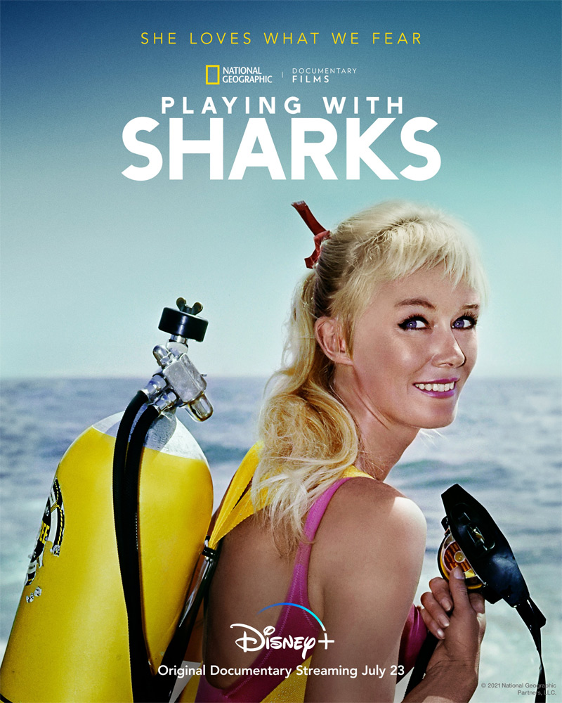 Playing with Sharks Poster