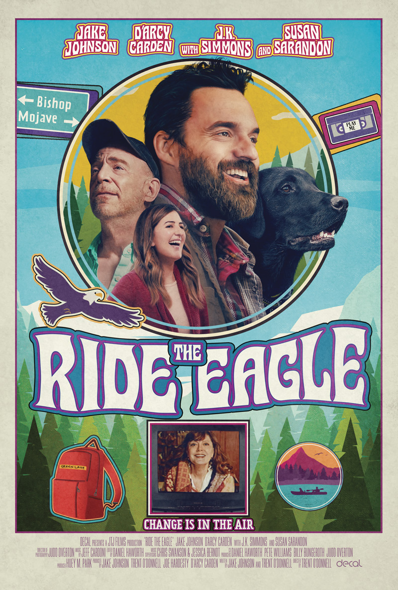 Ride the Eagle Poster
