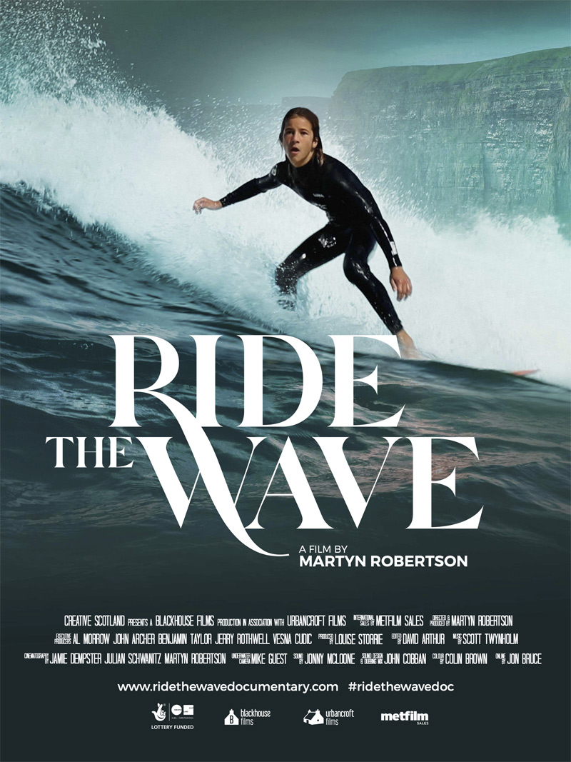 Ride the Wave Doc Poster