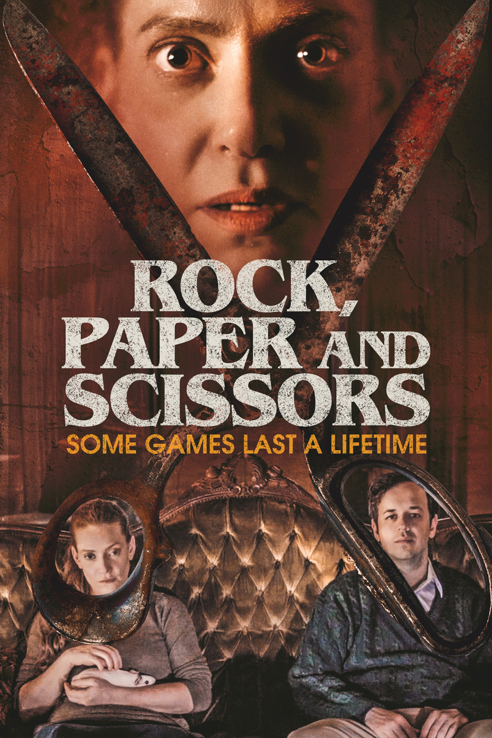 Rock, Paper and Scissors Poster