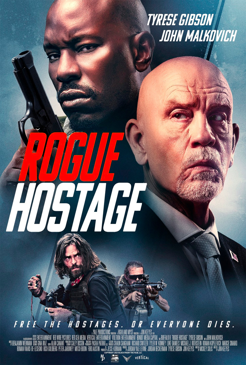 Rogue Hostage Poster