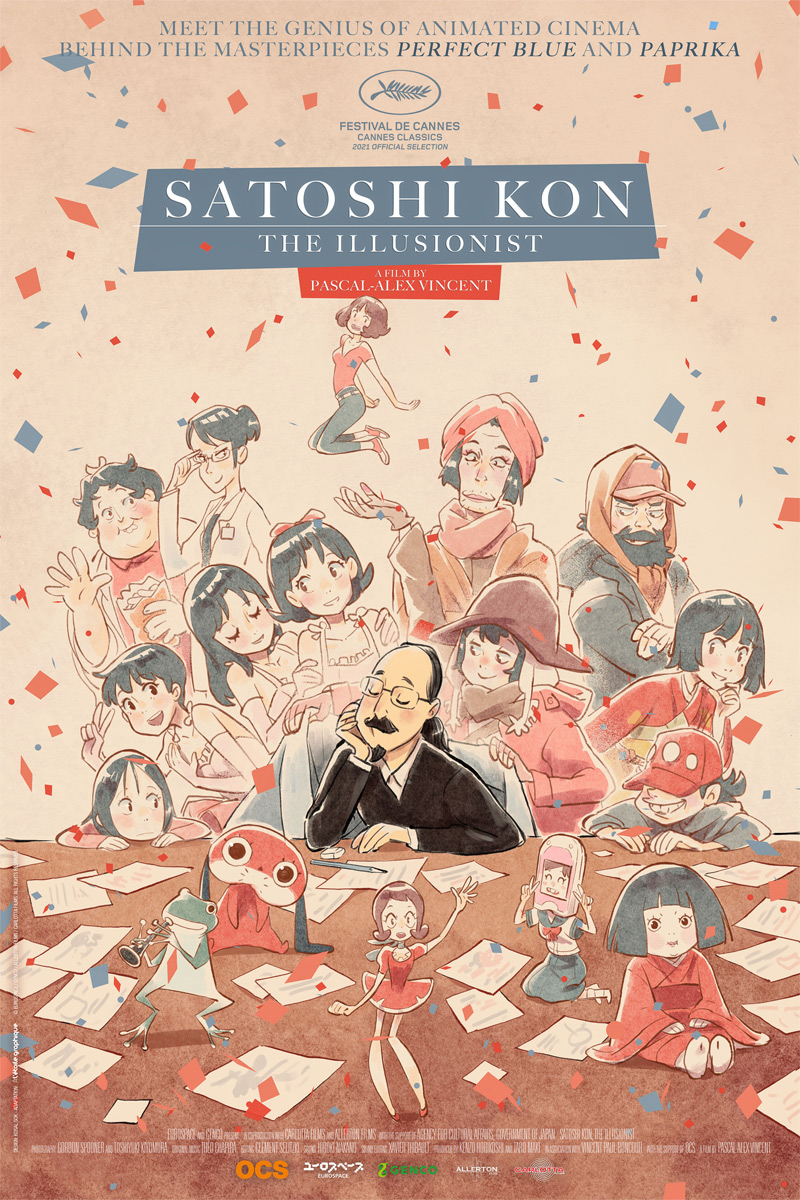 Satoshi Kon: The Illusionist Poster