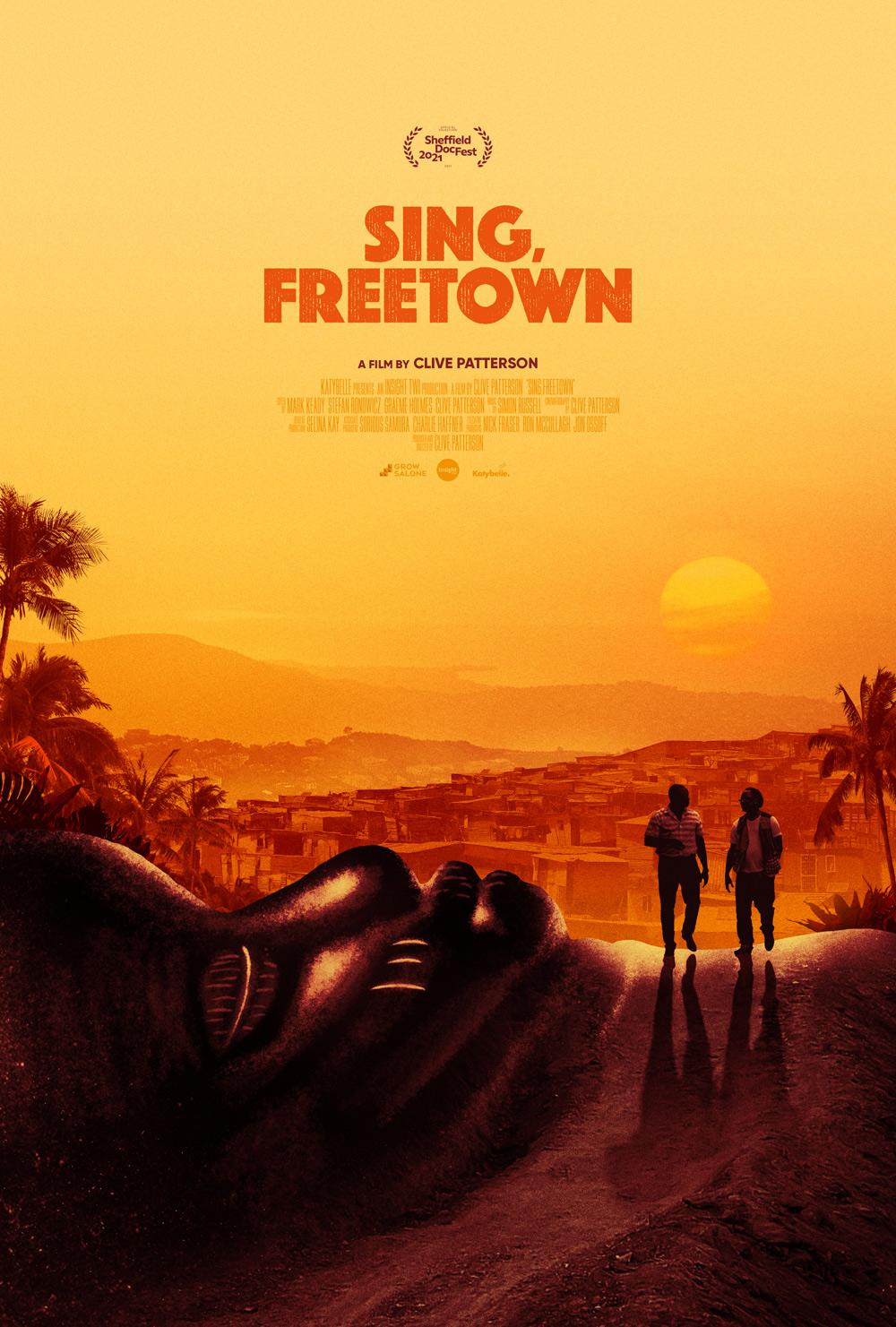 Sing, Freetown Poster