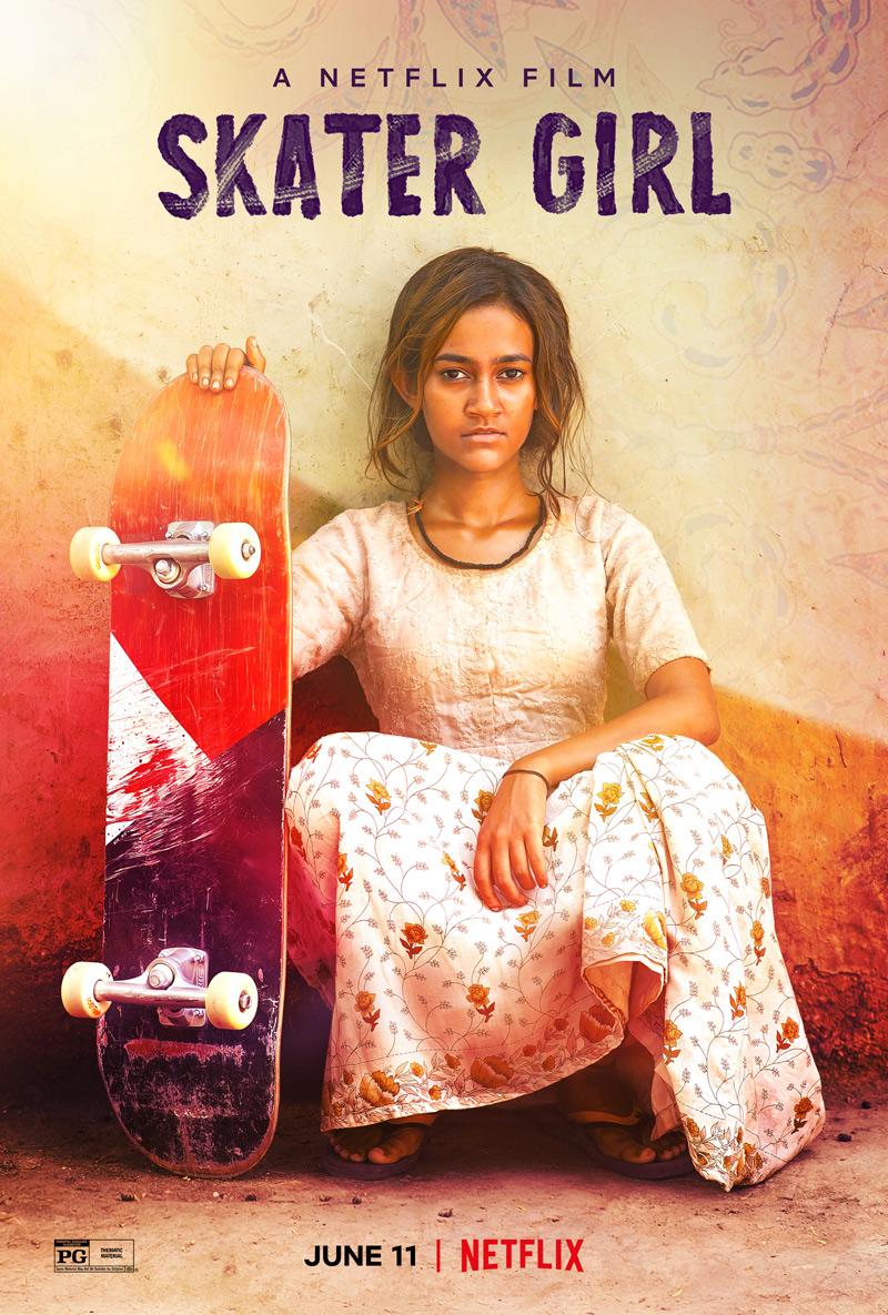 Skater Girl Poster
