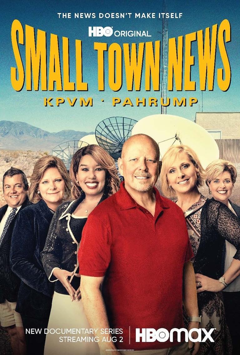 Small Town News: KPVM Pahrump Poster