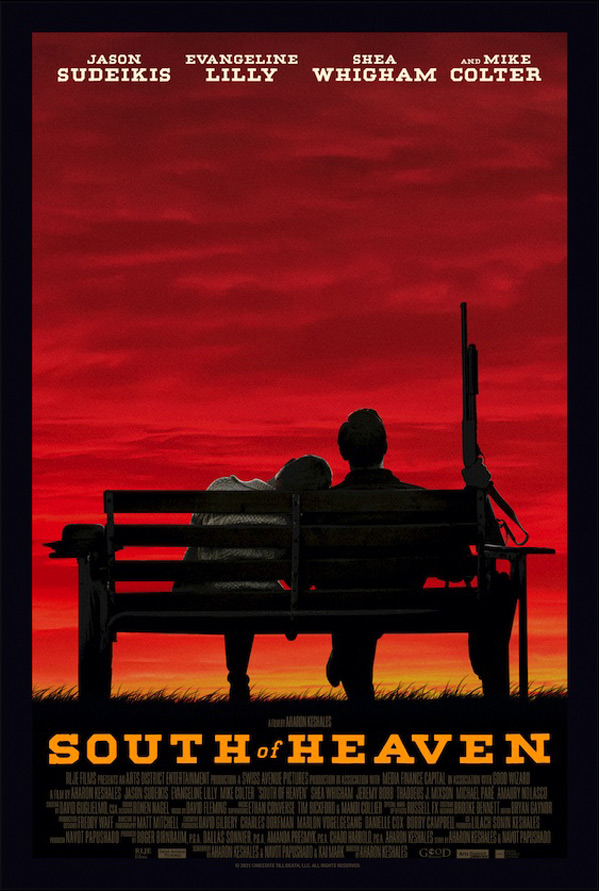 South of Heaven Poster