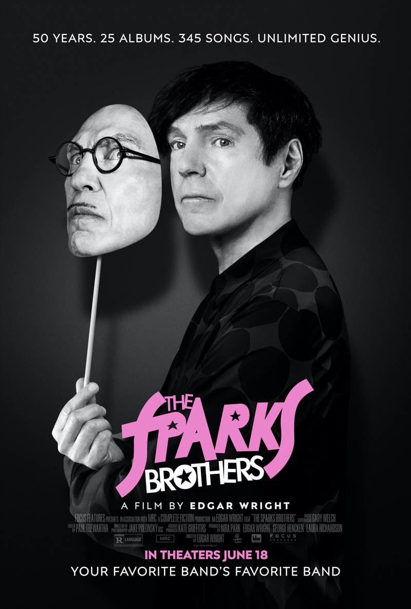 The Sparks Brothers Doc Poster