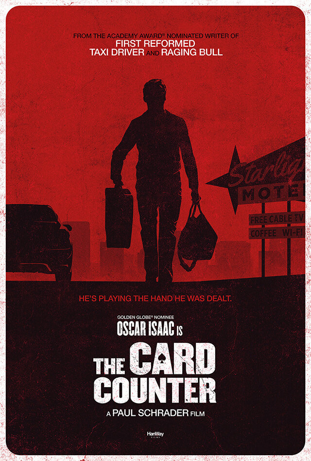 Paul Schrader's The Card Counter Poster