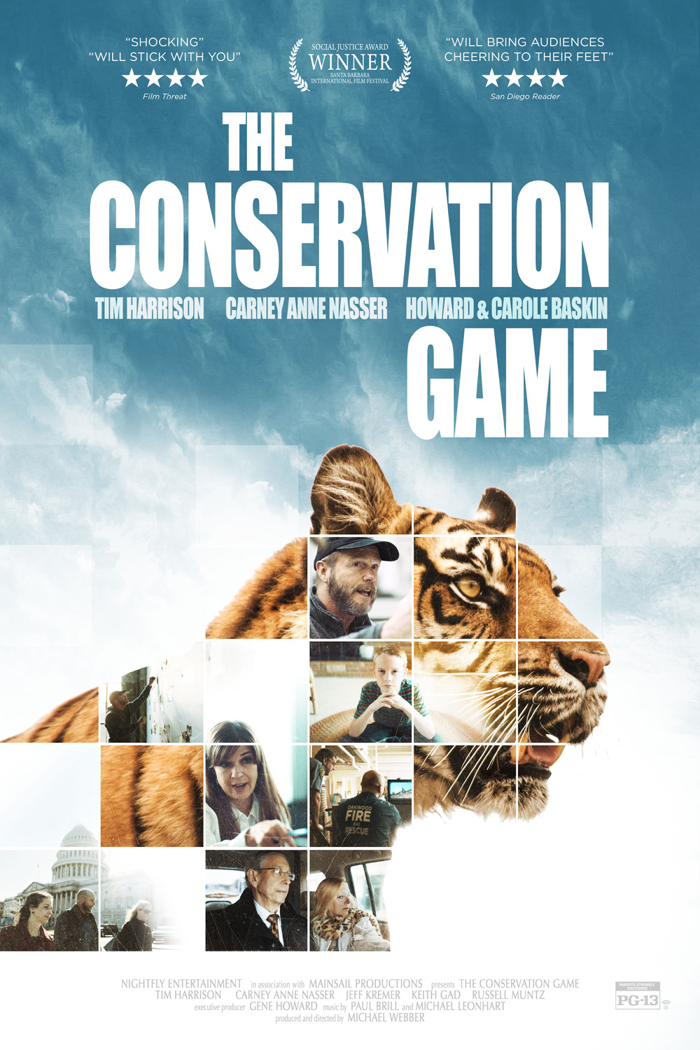 The Conservation Game Poster